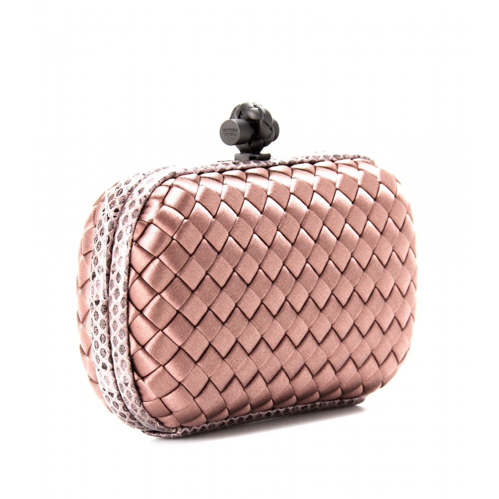 Knot box clutch Bottega Veneta 1hISDhcUtR