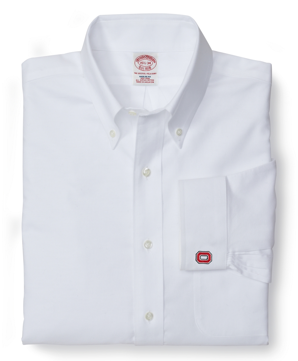lyst brooks brothers ohio state university all cotton