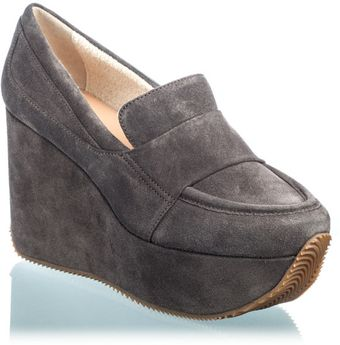 Calvin Klein Matea Wedge Grey - Lyst