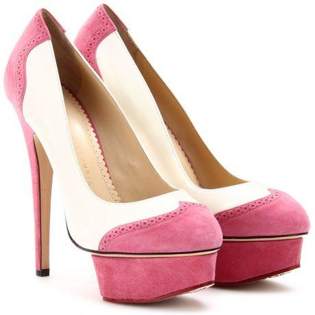 Platform Dolly Shoe White