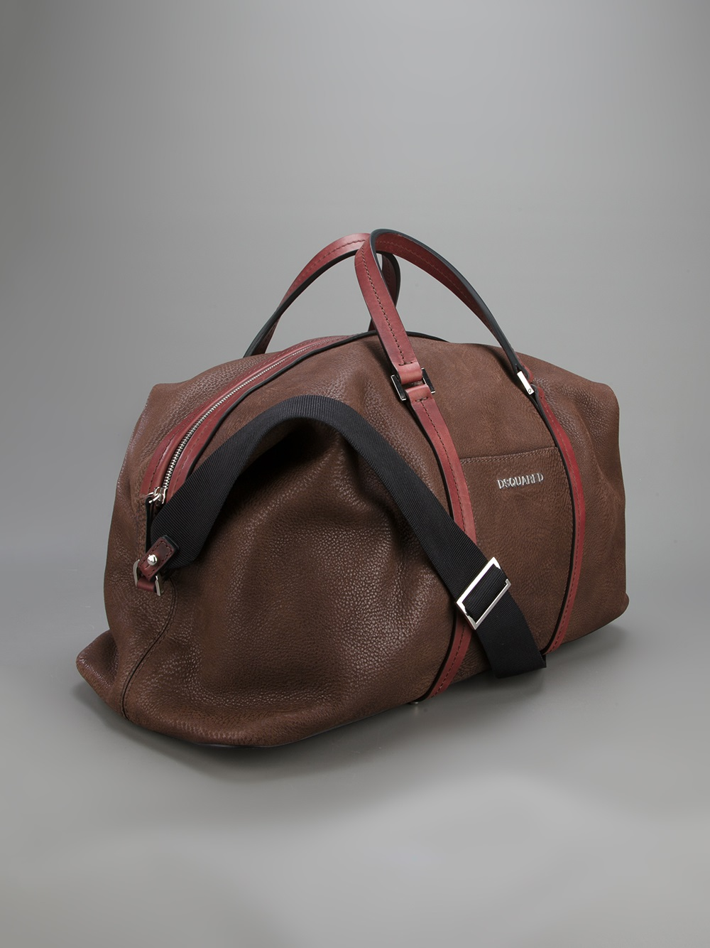 0c929be6e75f Lyst - DSquared² Leather Duffel Bag in Brown for Men