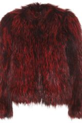 Isabel Marant Aileen Fox Fur Jacket