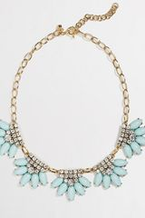 J.Crew Factory Flower Fringe Necklace - Lyst