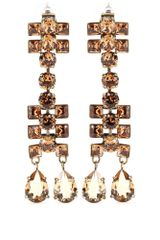 Lanvin Crystal Drop Earrings - Lyst