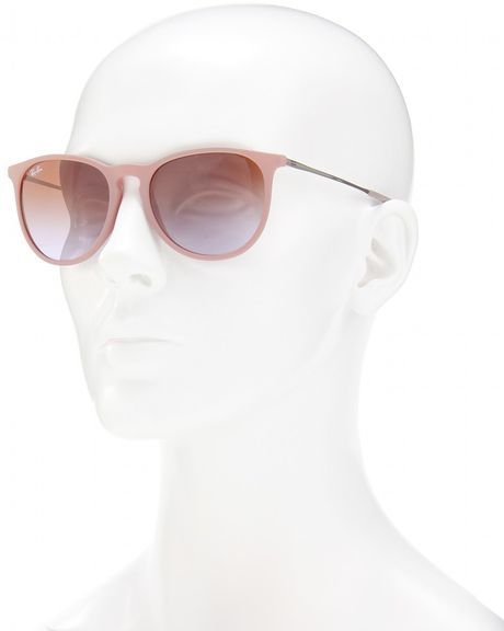 Ray Ban Erika Sunglasses In Pink Dark Rubber Sand Lyst