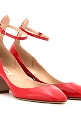 Valentino Tango Patent Leather Pumps - Lyst