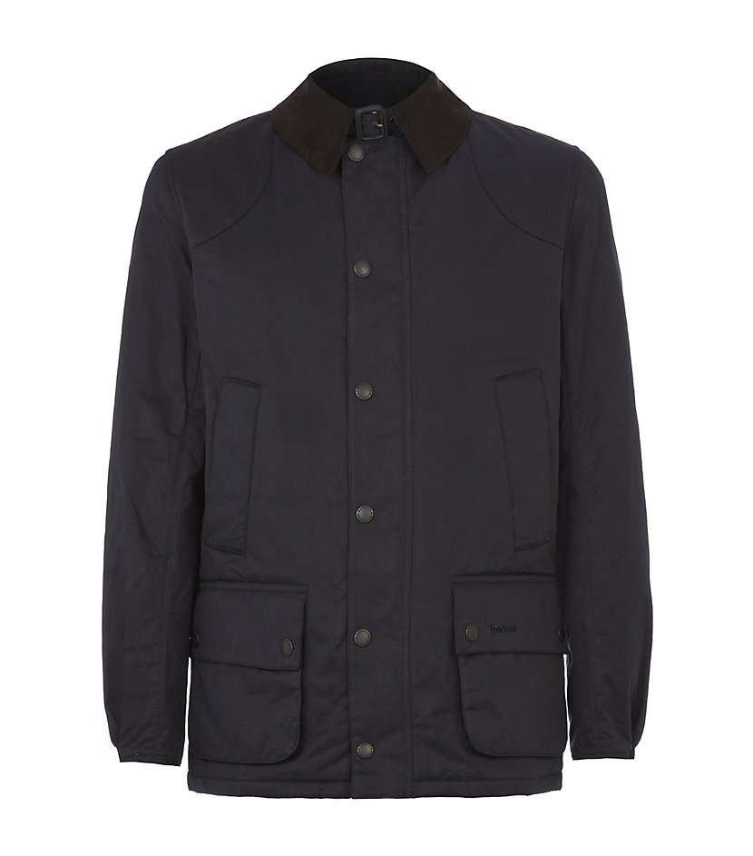 Barbour Hacking Buxdale Jacket In Blue For Men Navy Lyst