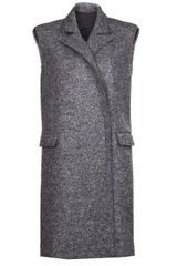 Lanvin Sleeveless Coat - Lyst