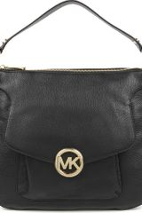 Michael Kors Fulton Leather Shoulder Bag - Lyst