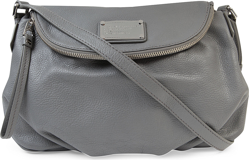 2094e225b Marc By Marc Jacobs Classic Q Natasha Leather Crossbody Bag in Gray ...