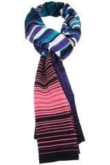 Missoni Mixed Print Scarf - Lyst