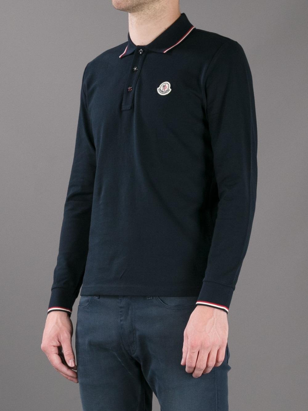 Long Sleeve Polo Shirt For Sale Rldm