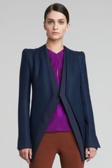 Narciso Rodriguez Collarless Jacket   - Lyst