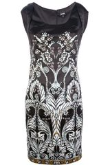 Just Cavalli Floral Print Dress - Lyst