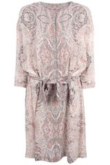 See By Chloé Paisley Shift Dress - Lyst