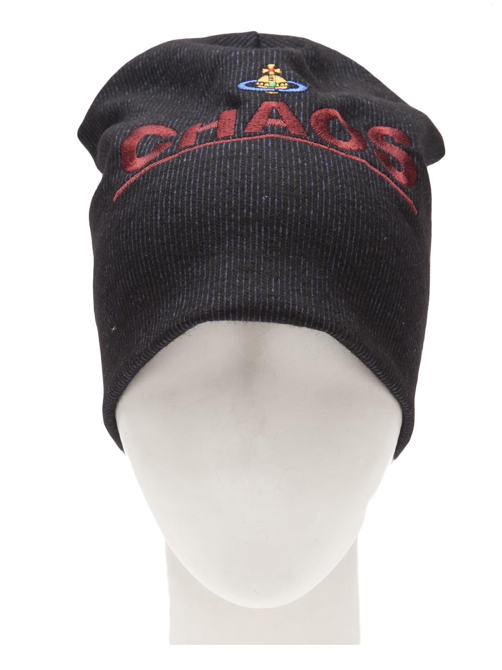 Lyst - Vivienne Westwood Chaos Hat in Black e5400ee71ee3