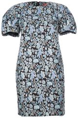 MSGM Brocade Dress - Lyst