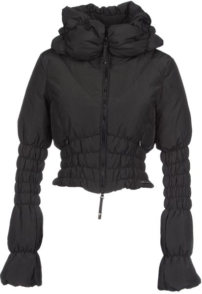 Twin-set Simona Barbieri Down Jacket in Black - Lyst