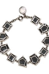 Marc By Marc Jacobs Multi Gem Slice Bracelet - Lyst