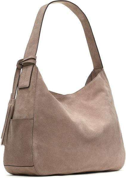 Michael Michael Kors Large Ashbury Suede Shoulder Bag 75