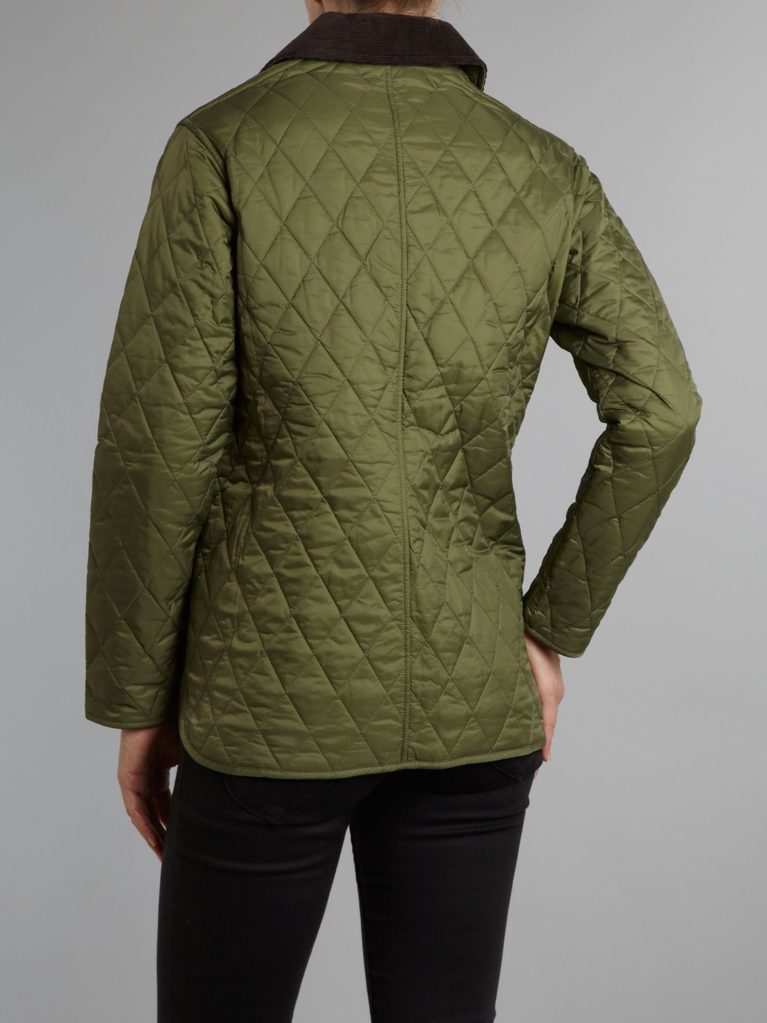 Barbour Shaped Liddesdale Quilted Jacket in Green for Men   Lyst : barbour shaped liddesdale quilted jacket - Adamdwight.com