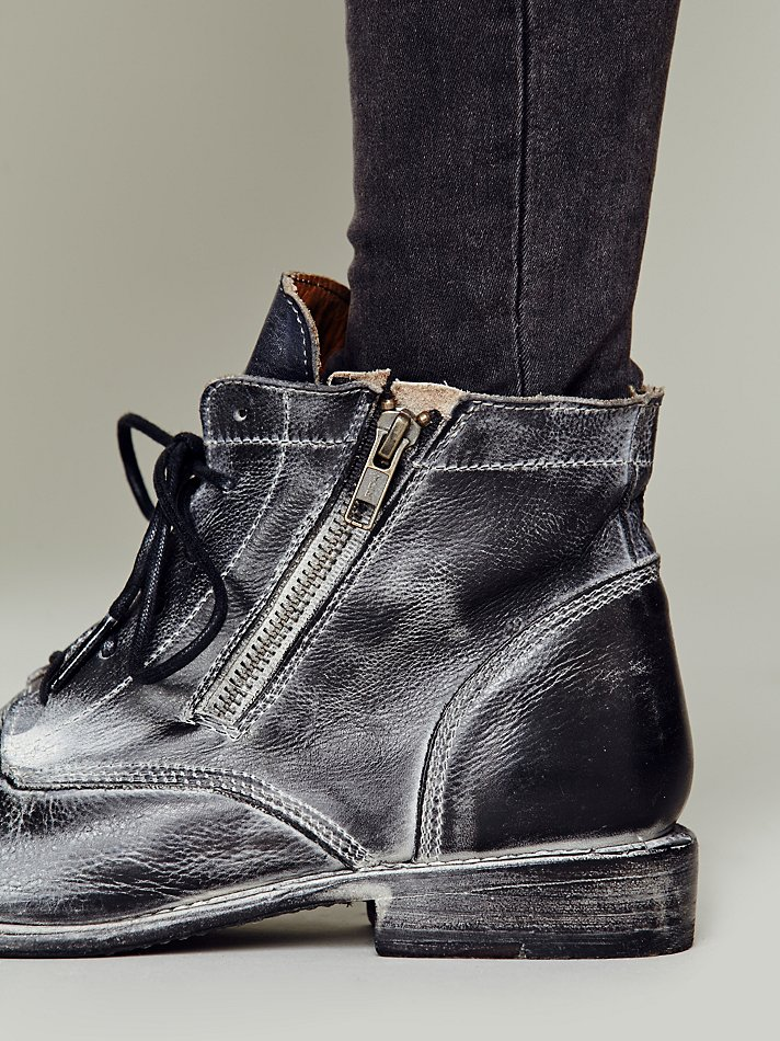 bed stu rafter boot in black lyst