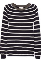 Chinti And Parker Striped Cashmere Sweater - Lyst