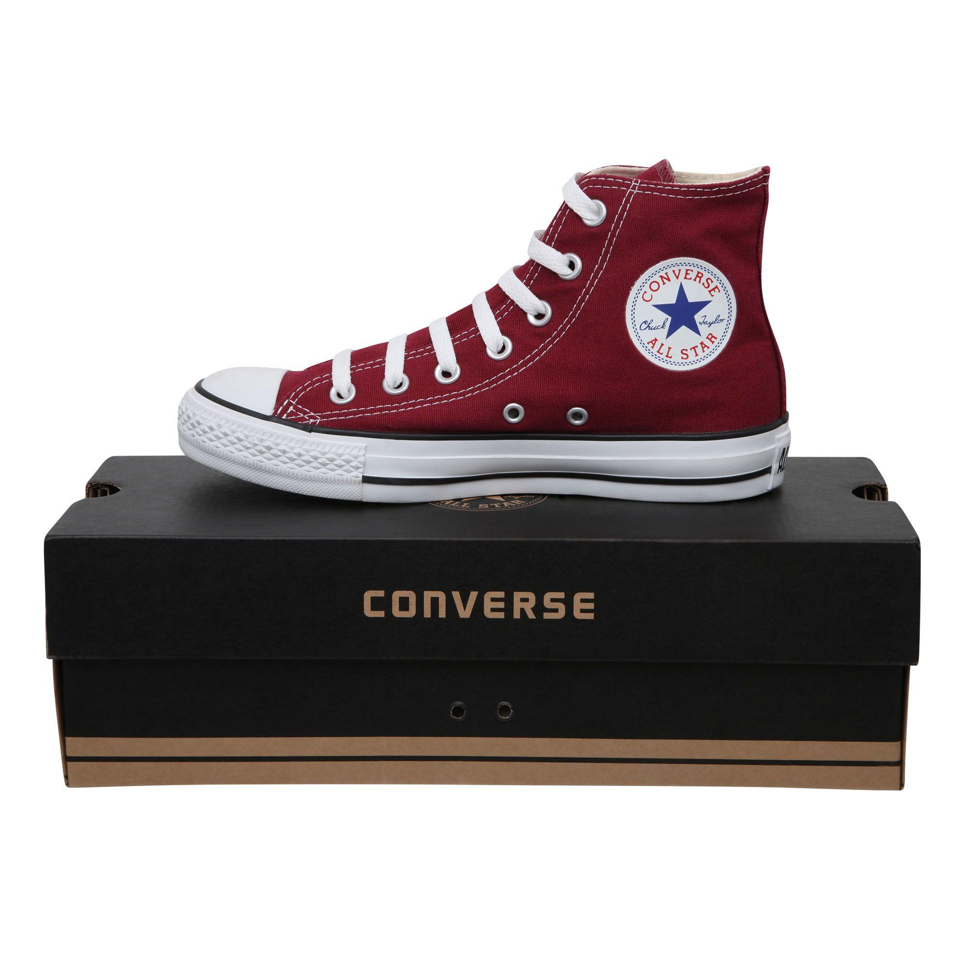 hot-seeling original new design cute cheap Converse Maroon High Top cxmail.co.uk