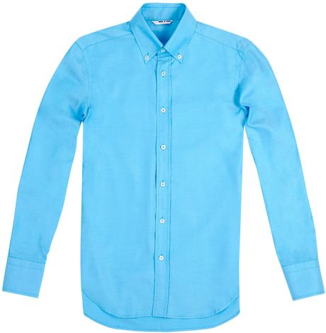 Turquoise Button Down Shirt
