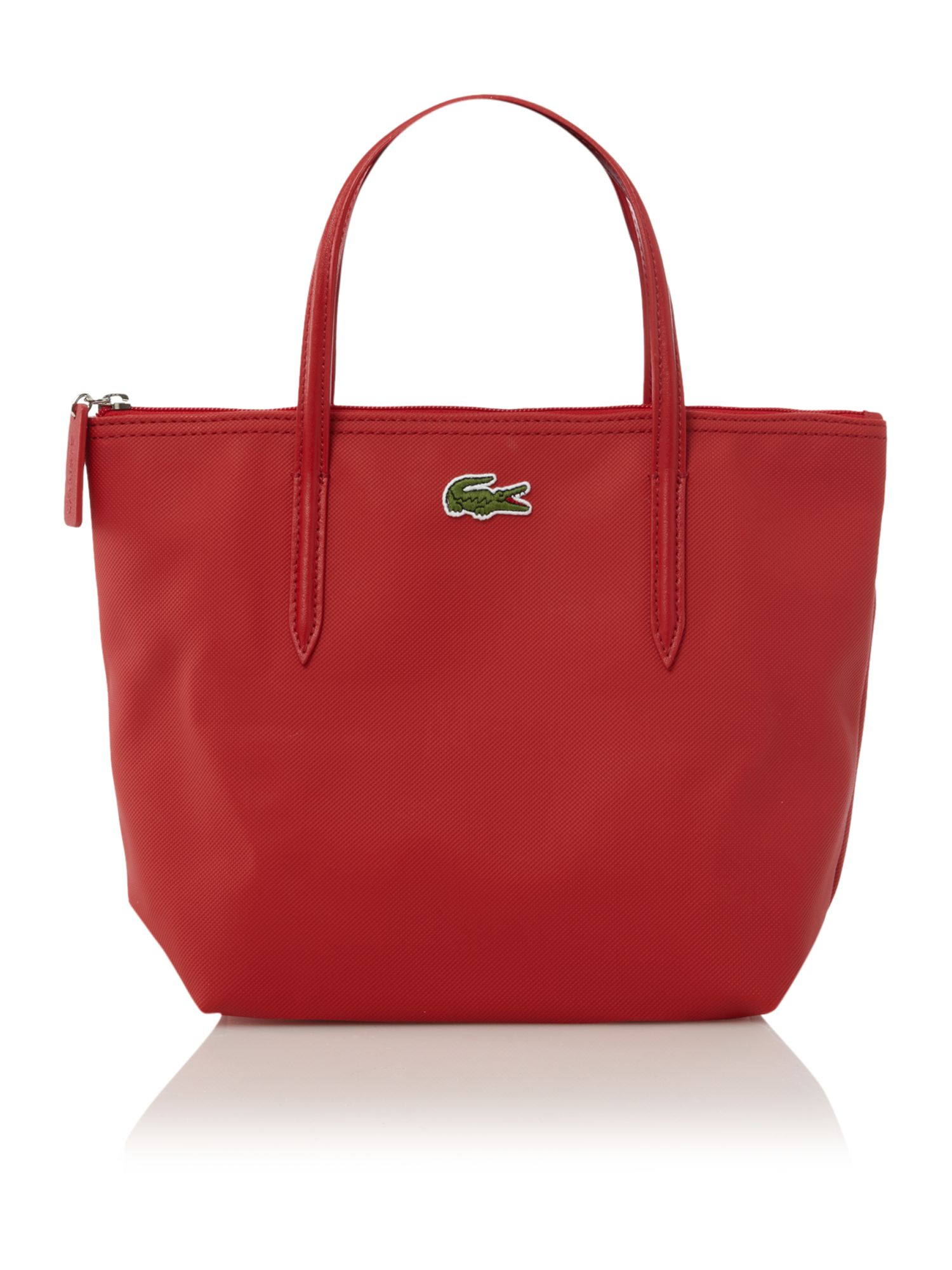 Lacoste Small Shopping Bag in Red | Lyst
