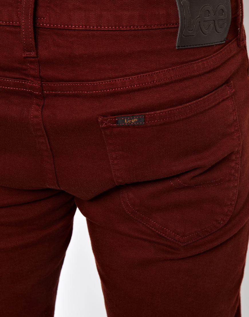 Criminal Damage Lee Jeans Luke Slim Tapered Fit Colored