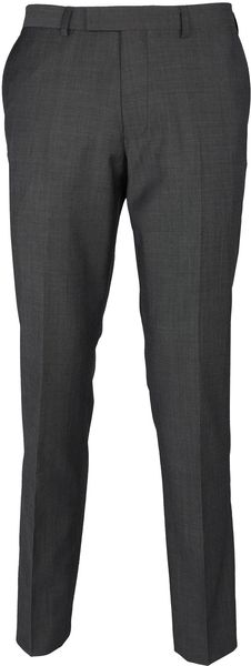 Paul Costelloe Grey Tonic Slimfit Trousers - Lyst