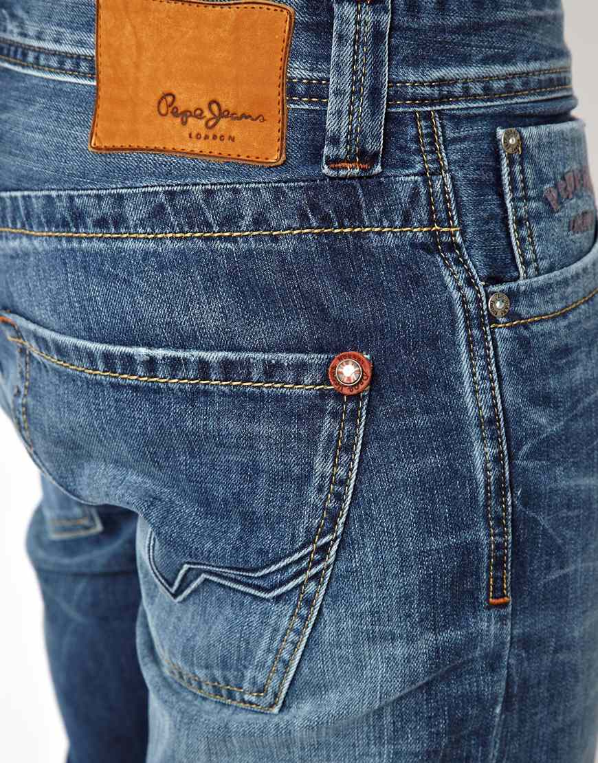 Pepe Jeans Junior Boy: Pepe Jeans Pepe Denim Shorts In Blue For Men