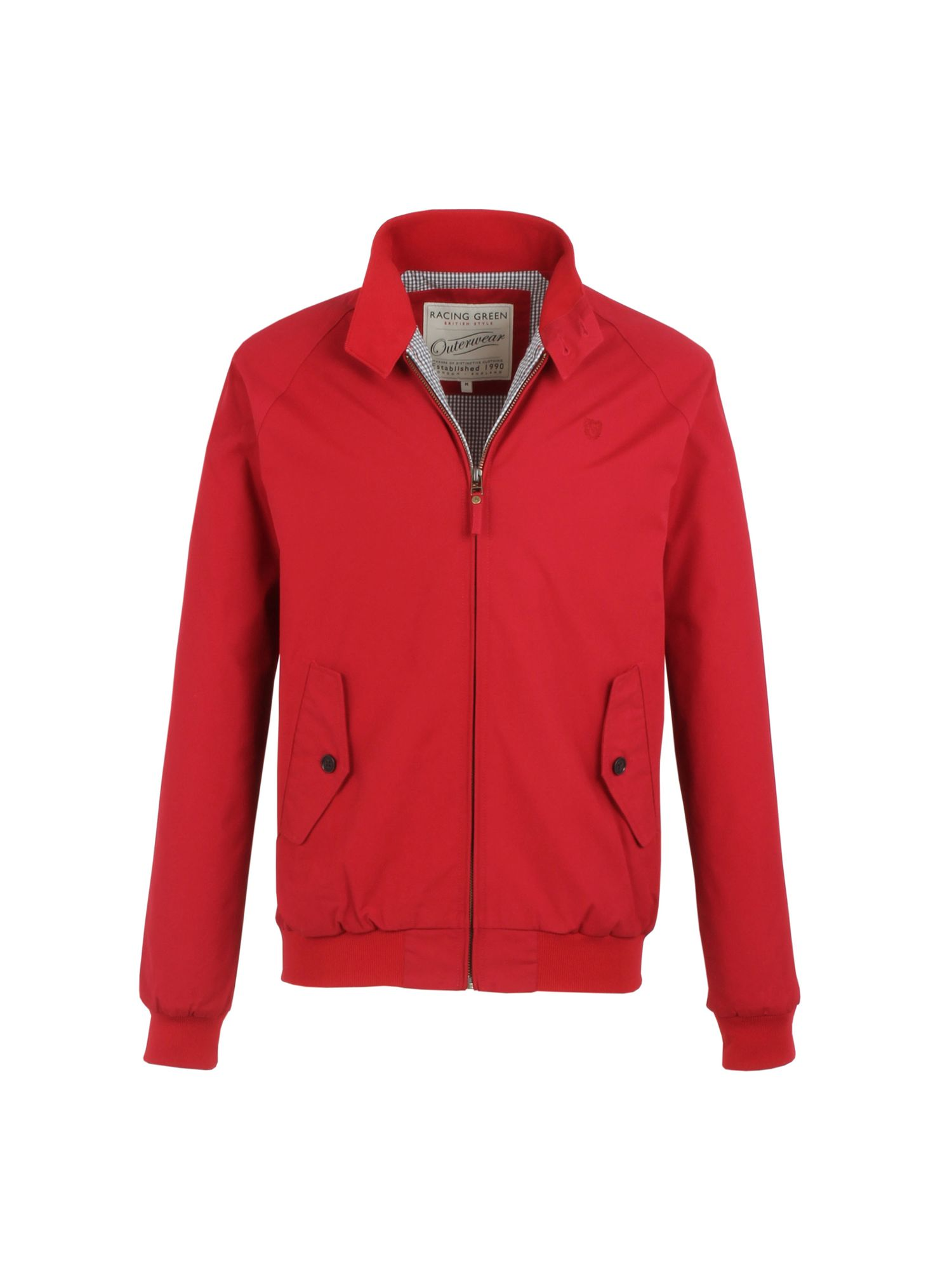 Racing green Harrington Jacket in Red for Men | Lyst