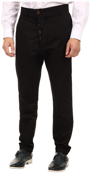Vivienne Westwood Man Classic Suiting Wool Trousers - Lyst