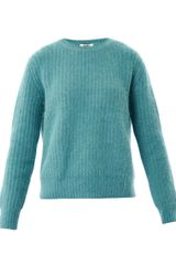 Acne Rakel Ribbed Sweater - Lyst