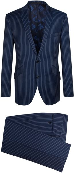 Alexandre Savile Row Striped 2 Piece Suit - Lyst