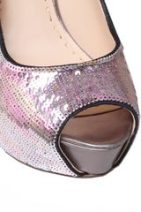 Enzo Angiolini Tanen2 Court Shoes in Silver - Lyst