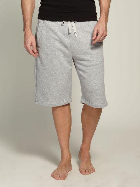 Farrell Mens Sweat Shorts In Gray For Men Grey Lyst