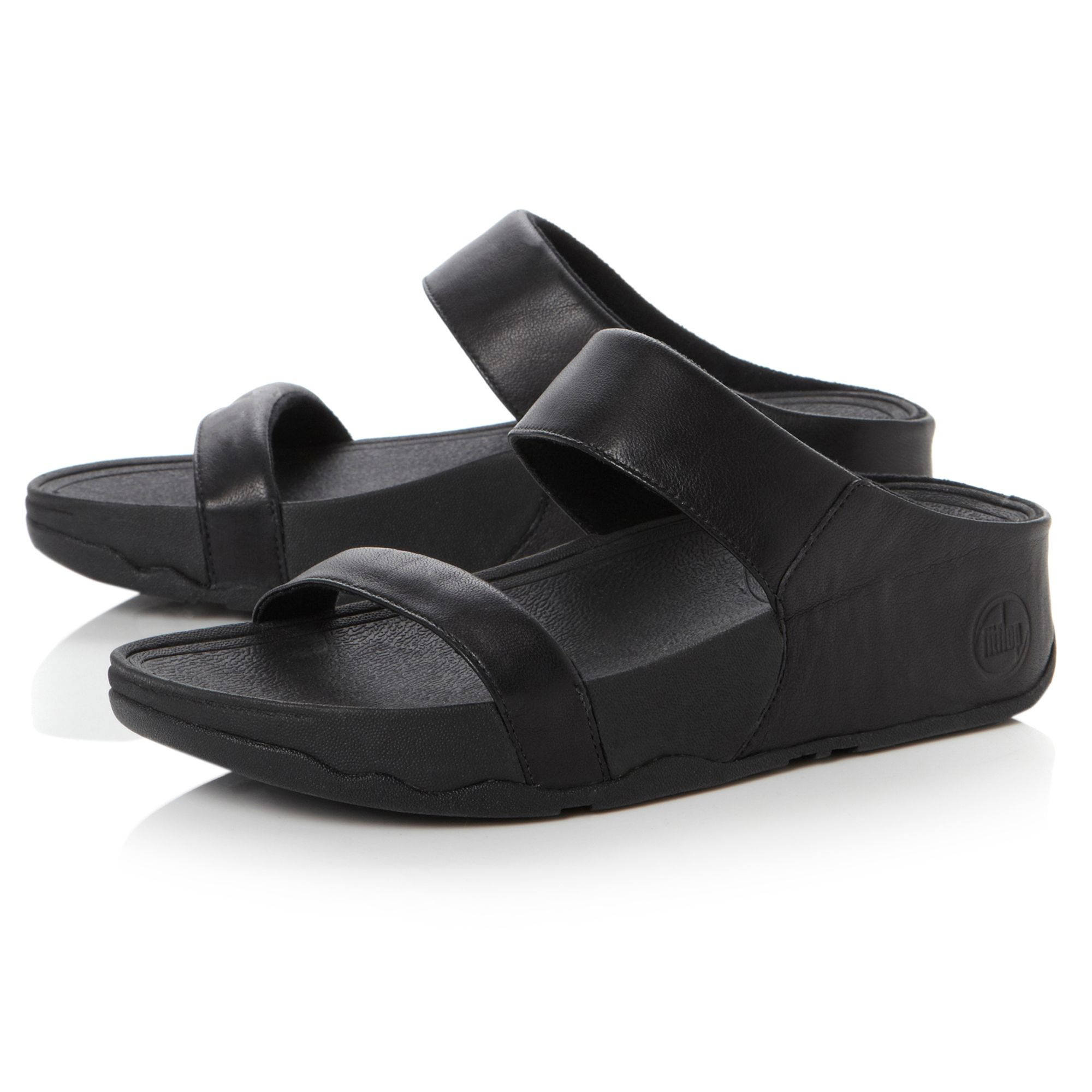 860434307c2f3 Fitflop Lulu Slide Black