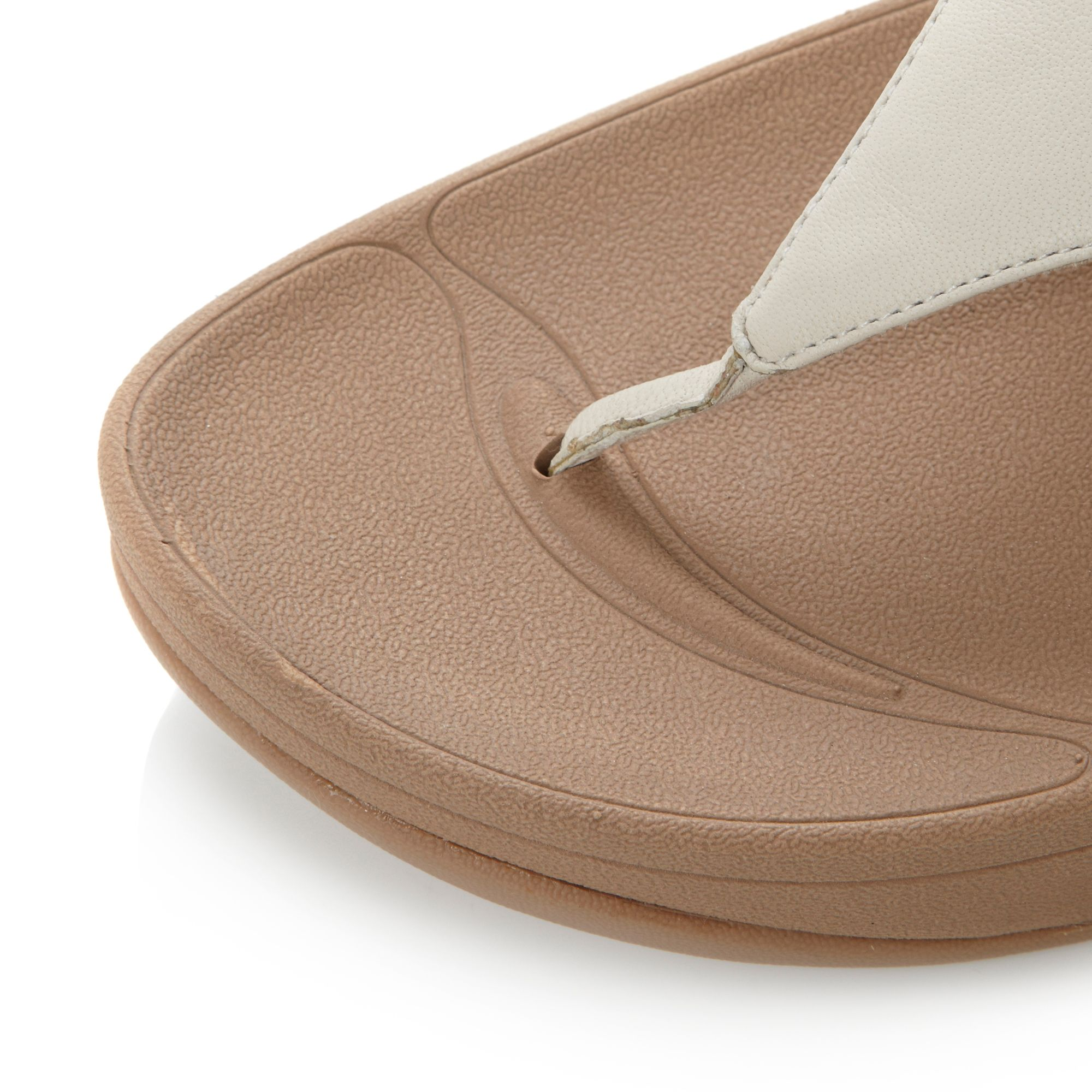 fitflop lulu leather pewter