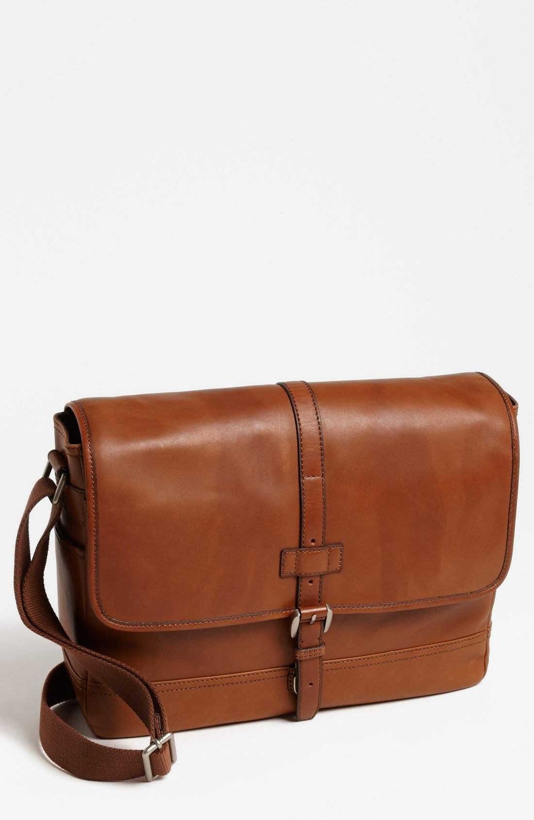 Fossil Emerson Messenger Bag In Brown For Men Lyst