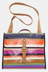 Fossil Keyper Coated Canvas Shoulder Bag - Lyst