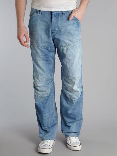 g star raw jeans men 39 s skinny bootcut slim jeans lyst. Black Bedroom Furniture Sets. Home Design Ideas
