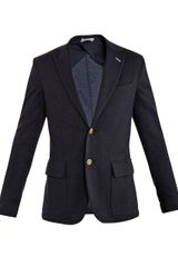 Gant Rugger Unconstructed Single breasted Blazer - Lyst
