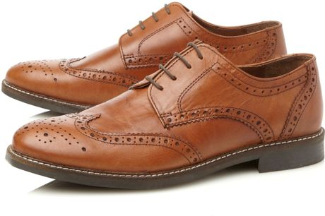 linea allaster formal shoes in brown for lyst