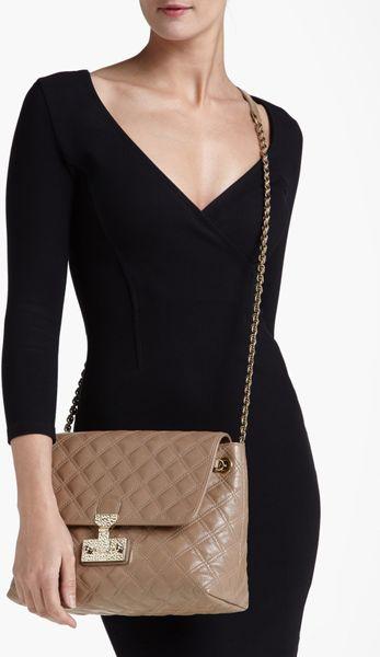 Baroque Xl Single' Leather Shoulder Bag 73