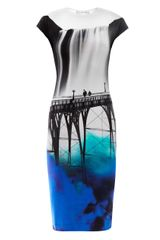 Mary Katrantzou Elay San Francisco Jersey Dress - Lyst
