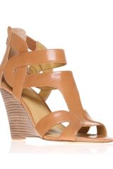 Nine West Merle Wedge Sandals - Lyst