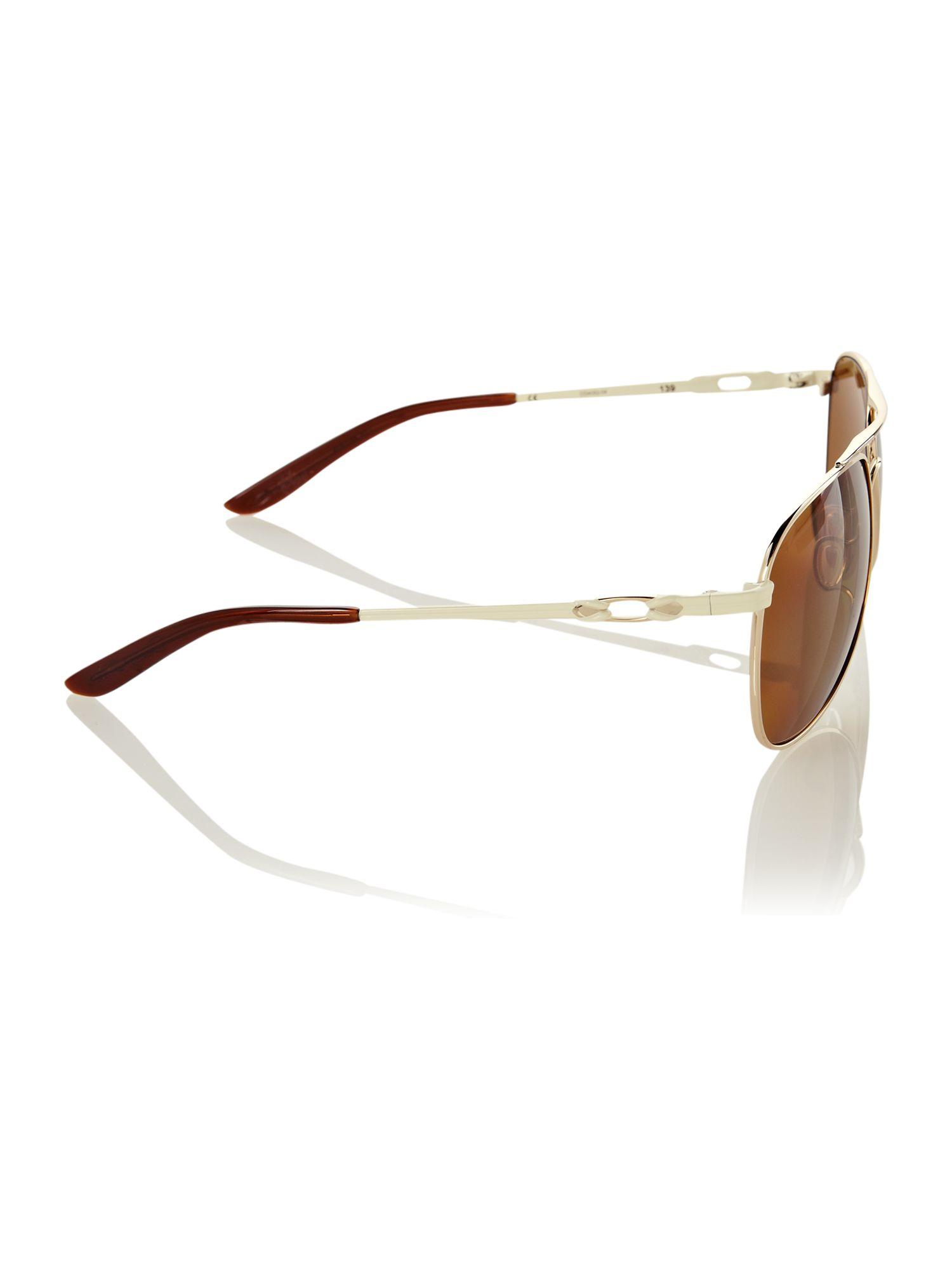 4c3e466c6d Lyst - Oakley Oakely Ladies Gold Daisy Chain Sunglasses in Metallic ...